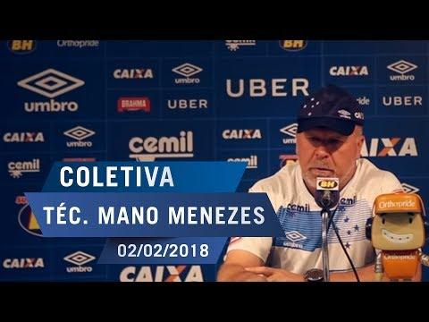 02/02/18 - Coletiva: Téc. Mano Menezes
