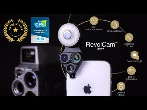 No Smartphone Lens Kit Is as Complete as the Universally-Compatible RevolCam