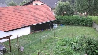 Hagelunwetter in Voitsberg