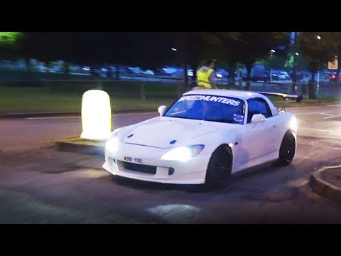 Modified Cars Leaving a Car Meet – May 2017