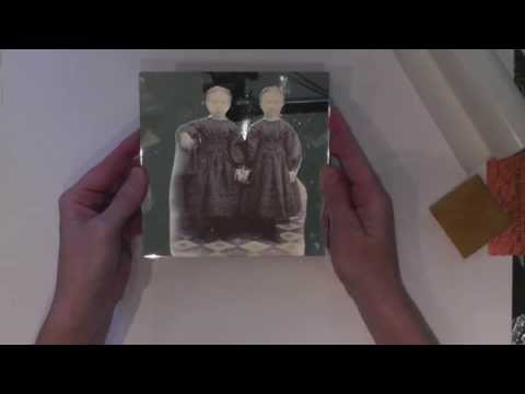 Xyron 5 Inch Creative Station Image Transfer Technique Video