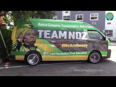 Nkosazana Dlamini Zuma Receives a warm support from ANC Frances Baard Region