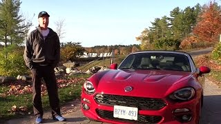 2017 Fiat 124 Spider Lusso Review - Part 2