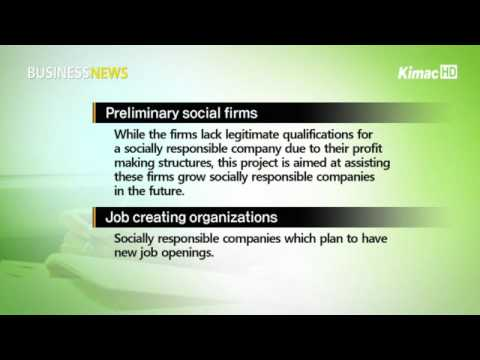 Socially responsible firms create new jobs