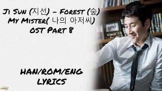 Ji Sun (지선) – Forest (숲) My Mister( 나의 아저씨) OST Part 8 LYRICS