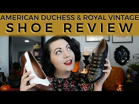 Retro Gal Reviews: American Duchess & Royal Vintage Shoes