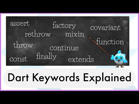 Dart Keywords Explained