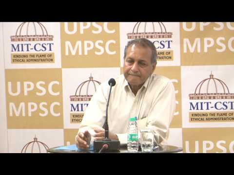 Shri. D. P. Agrawal, ex Chairman UPSC (Part II)