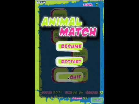 Animal Match (Memory Game) App Review
