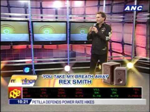 Rex Smith to serenade Leni Robredo in concert