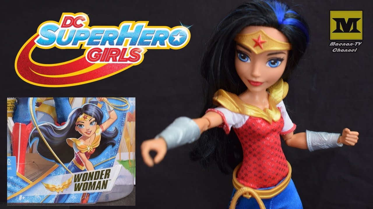 WONDER WOMAN (DC Super Hero Girls) Action Doll Barbie - YouTube 822739949b