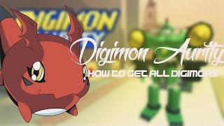 Digimon Aurity ROBLOX: How to get all Digimons (Languages: Português and English)