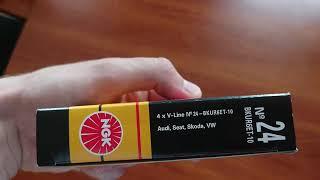 BKUR6ET-10 Свечи зажигания NGK V-LINE 24