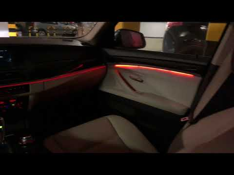 Bmw F10 Ambient Upgrade El Wire Led 4k Youtube