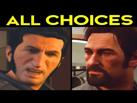 A Way Out - ALL CHOICES LEO'S WAY Vs VINCENTS WAY - Alternative Choices & Outcomes