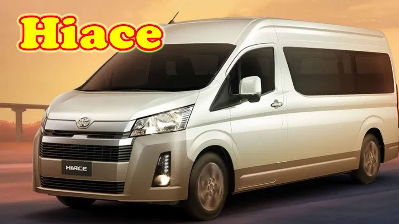2021 Toyota Hiace New Review