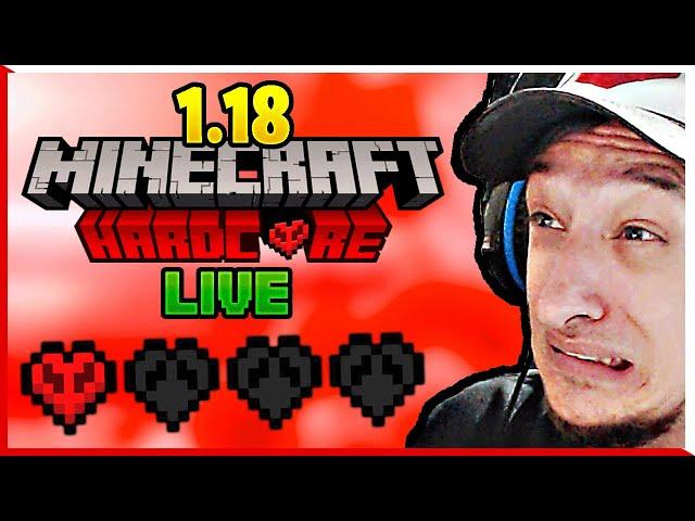 Wie lange lebt baasti noch in Minecraft 1.18 Hardcore?