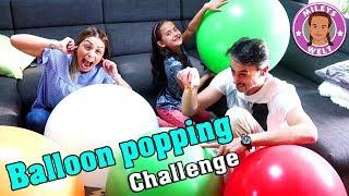 XXL BALLON POPPING Challenge - BEFÜLLT mit Aufgaben - Mileys Welt