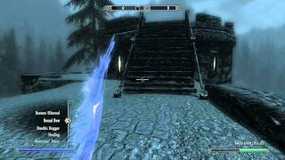 Skyrim: Fort Amol location and bound bow