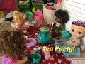 BABY ALIVE: Lydia & Her Tea Party!