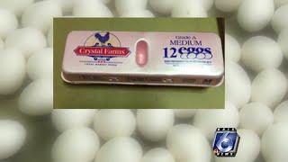 FDA recalls nearly 207 million eggs due to salmonella