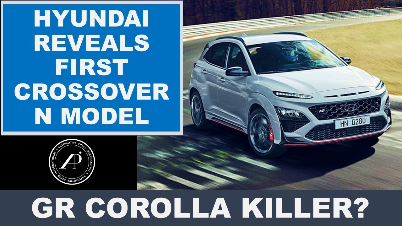 HYUNDAI'S FIRST CROSSOVER N PERFORMANCE DEBUT - IS THE KONA N A REAL THREAT TO TOYOTA GR COROLLA?