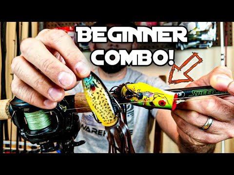 Frog Fishing For Beginners | Rod, Reel, Line, Lures, & TIPS!