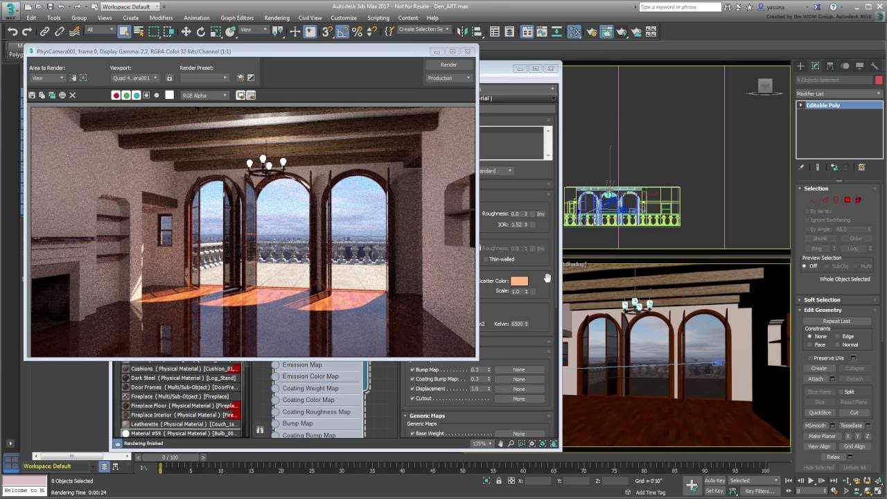 3ds Max Lighting and Rendering - Exploring the ART ...