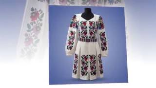 Смотреть видео Где купить платье вышиванку
