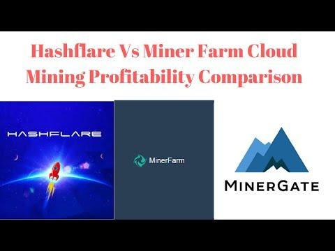 Hashflare Vs Miner Farm Cloud Mining Profitability Comparison And New Site Minergate