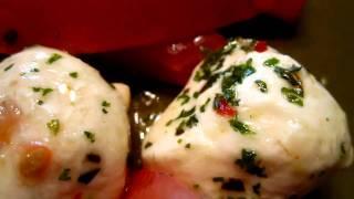 Cooking - marinated mozzarella and tomato