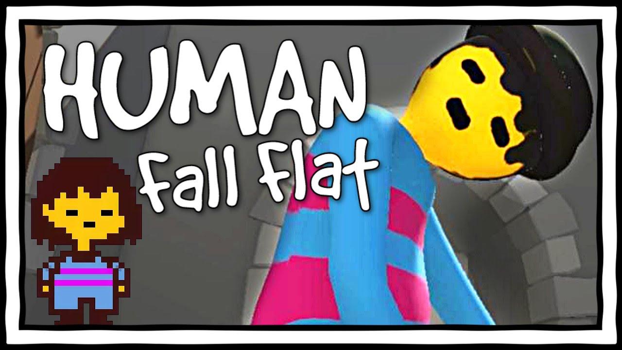 Human Fall Flat Wallpaper Playing As Frisk Human Fall Flat Gameplay Amp Funny Moments