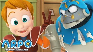 Arpo the Robot | Prank War | Best Moments | Funny Cartoons for Kids | Arpo and Daniel