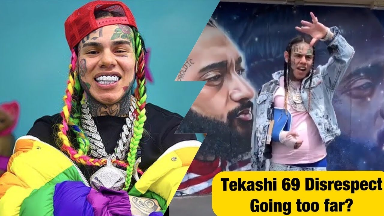 Tekashi 6ix9ine DISRESPECTS Nipsey Hussle's Mural In L.A., Going Too Far & Who's To Blame?