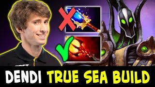 DENDI learns from SEA — DAGON BUILD on MID RUBICK