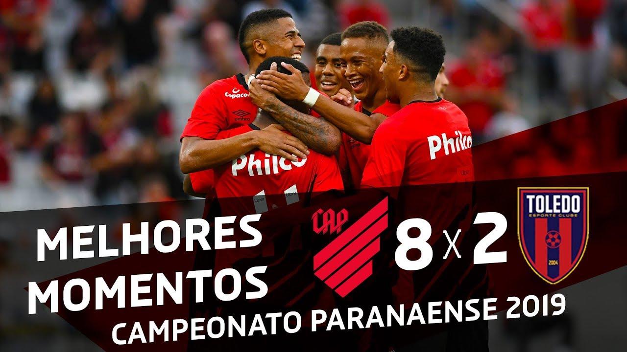 Athletico Paranaense 8x2 Toledo Melhores Momentos Youtube