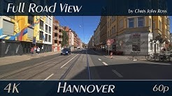 Hannover, Germany: Linden-Limmer - Zimmermannstraße, Limmerstraße, Kötnerholzweg, Fössestraße - 4K