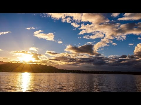 Autumn Sky - Lake Sammamish 4K UHD