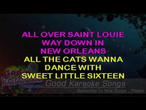 Sweet Little Sixteen - Chuck Berry ( Karaoke Lyrics )