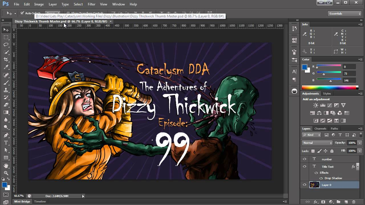 Photoshop Tutorial ~ Batch processing text variables and datasets