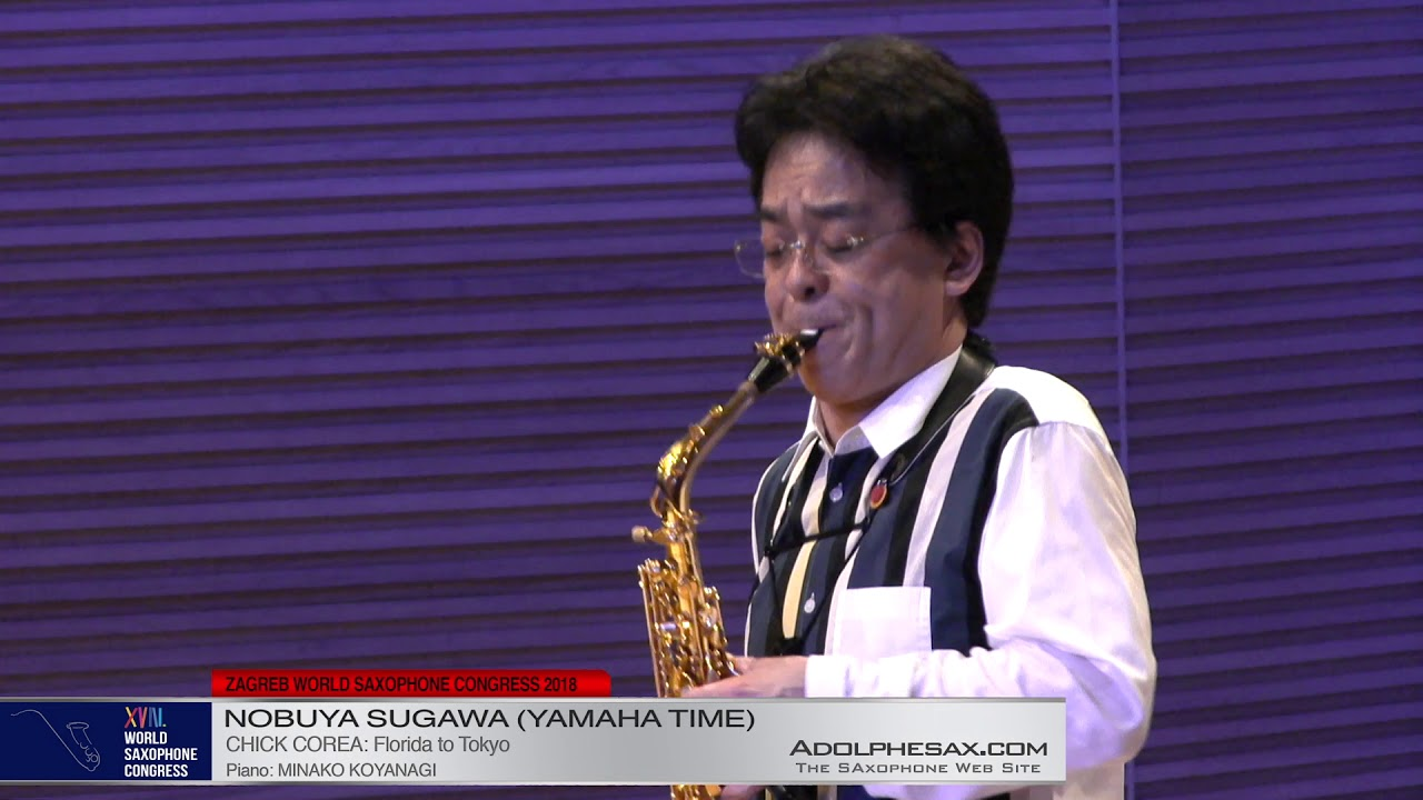 Florida to Tokio by Chick Corea    Nobuya Sugawa   XVIII World Sax Congress 2018 #adolphesax