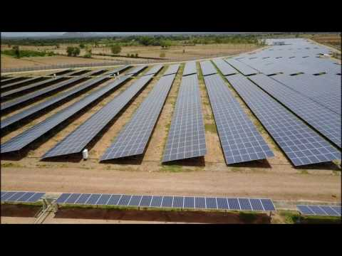 Cumbum: 25 MW (Hareon Solar modules on trackers and fixed-racks)