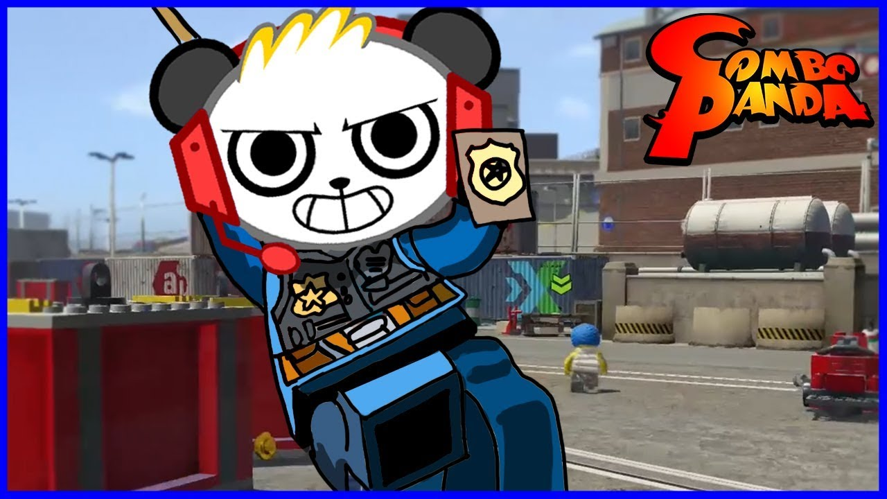 Lego City Undercover Case Closed Let's Play with Combo Panda