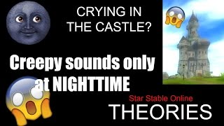 CRYING in the silverglade castle at NIGHTTIME | Theories | Star Stable Online