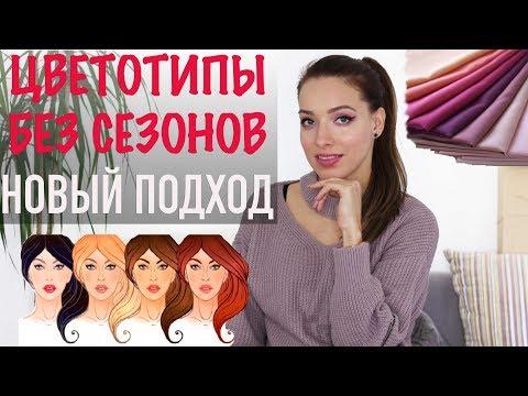 ЦВЕТОТИПЫ БЕЗ СЕЗОНОВ! Как самой определить? Как подобрать цвета в одежде и макияже?