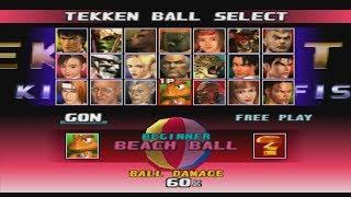 Tekken 3 - Force + Ball Mode (PSX)