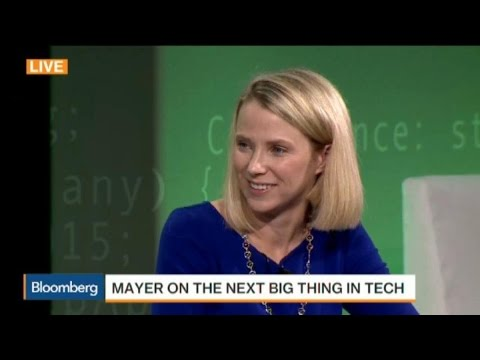 Yahoo's Mayer: Artificial Intelligence Is Next Big Thing