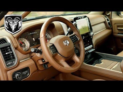2019 Ram 2500 Longhorn Mega Cab Interior