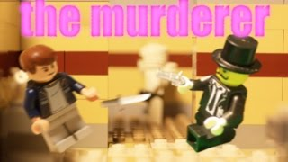 lego Roblox. the murderer (lego animation)