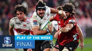 PLAY OF THE WEEK: 2018 Super Rugby Final